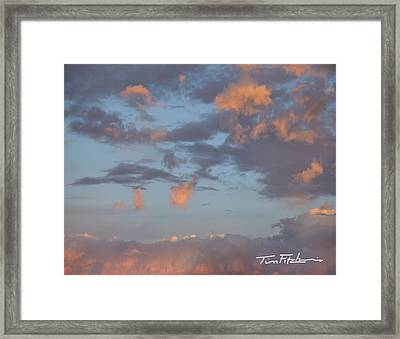 No Tears In Heaven Framed Print