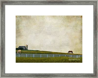 No Time Framed Print