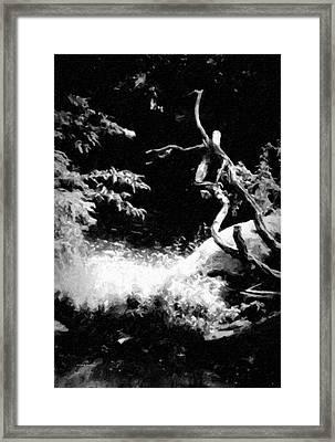 No Title 1001 Framed Print by Gerlinde Keating - Galleria GK Keating Associates Inc