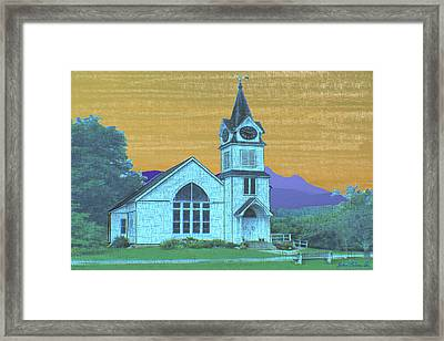 No Title Framed Print by John Selmer Sr