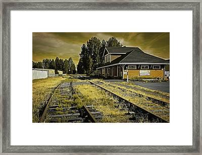 No Train Today Framed Print by Richard Farrington