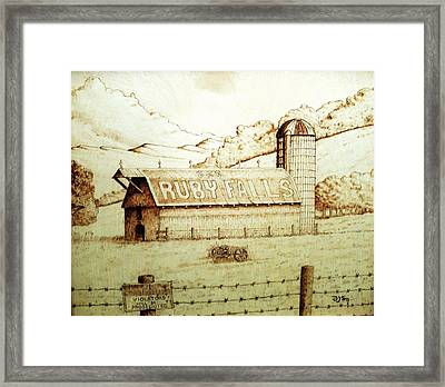 No Trespassing Framed Print by Freddy  Smith