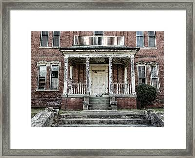 Framed Print featuring the photograph No Tresspassing At 386 by Kim Hojnacki
