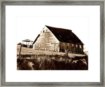 No Use Framed Print by Julie Hamilton