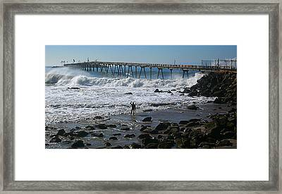 No Way Out Framed Print by Ron Regalado