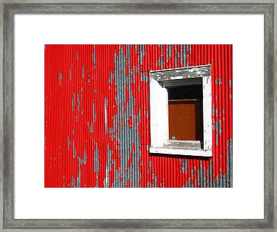 No Way Out Framed Print by Sheryl Burns