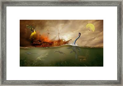No Way Out Framed Print by Surreal Photomanipulation