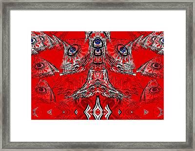 No World Order Framed Print