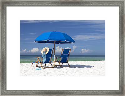 No Worries Framed Print by Janet Fikar