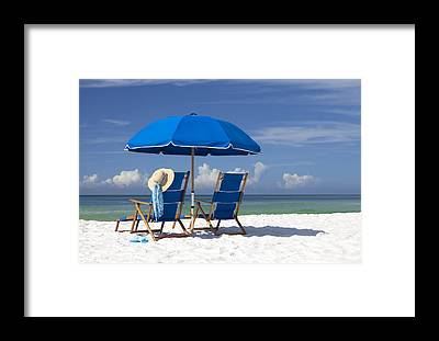 Beach Resort Framed Prints
