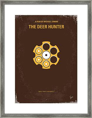 No019 My Deerhunter Minimal Movie Poster Framed Print by Chungkong Art