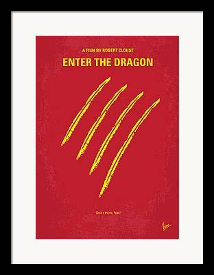 Enter The Dragon Framed Prints