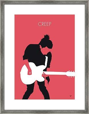 No062 My Radiohead Minimal Music Poster Framed Print