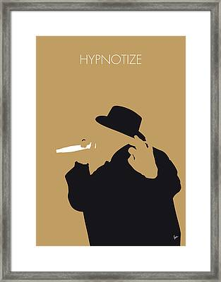 No080 My Notorious Big Minimal Music Poster Framed Print