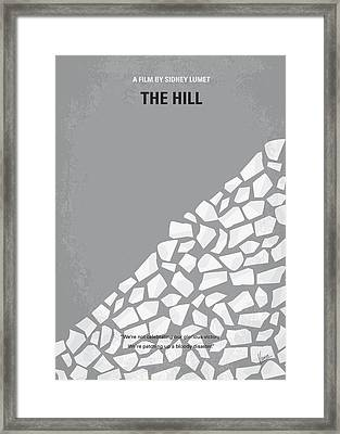 No091 My The Hill Minimal Movie Poster Framed Print