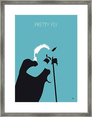 No095 My The Offspring Minimal Music Poster Framed Print