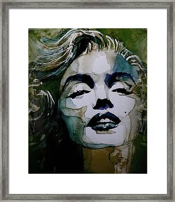No10 Larger Marilyn  Framed Print by Paul Lovering