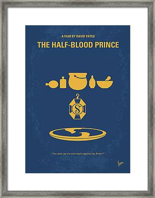 No101-6 My Hp - Half Blood Prince Movie Poster Framed Print