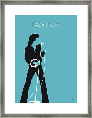 No115 My Golden Earring Minimal Music Poster Framed Print