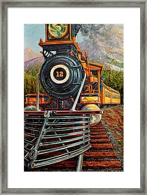 No.12 In The Mountains Framed Print by Gary Symington