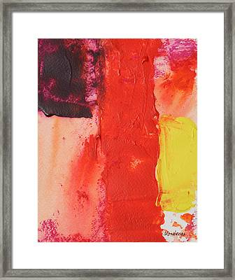 No.17 Framed Print
