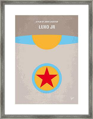 No171 My Luxo Jr Minimal Movie Poster Framed Print by Chungkong Art