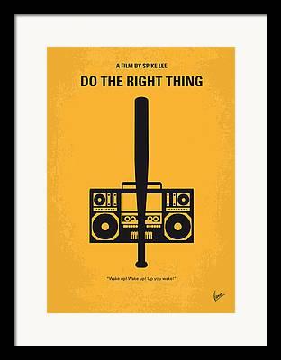 Rights Digital Art Framed Prints