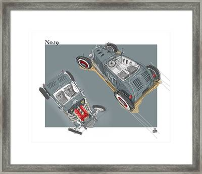 No.19 Framed Print by Jeremy Lacy