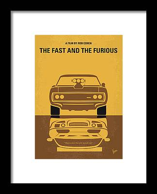 Classic Muscle Cars Framed Prints