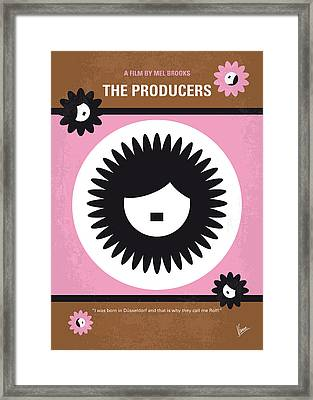 No467 My The Producers Minimal Movie Poster Framed Print