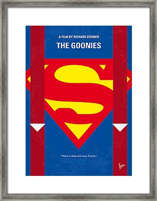No456 My The Goonies Minimal Movie Poster Framed Print by Chungkong Art