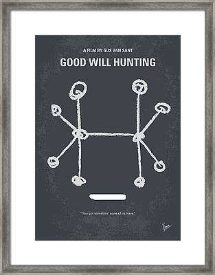 No461 My Good Will Hunting Minimal Movie Poster Framed Print by Chungkong Art