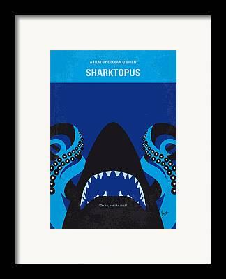 Sharks Framed Prints