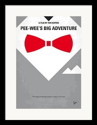 Pee Wee Framed Prints