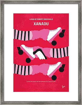 No516 My Xanadu Minimal Movie Poster Framed Print