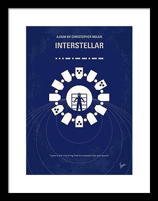 Interstellar Framed Prints