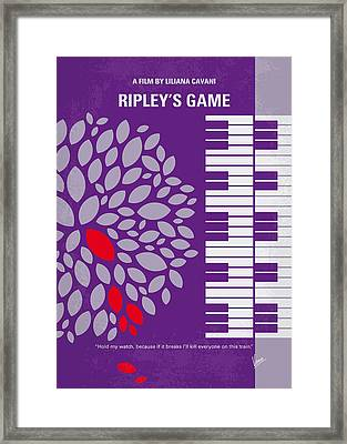 No546 My Ripleys Game Minimal Movie Poster Framed Print by Chungkong Art