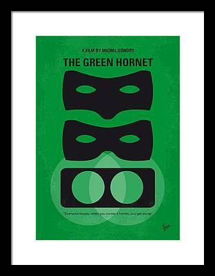 Hornet Framed Prints