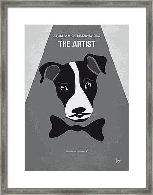 No609 My The Artist Minimal Movie Poster Framed Print