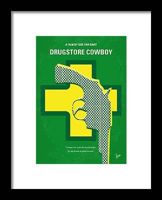 Cowboy Movie Framed Prints