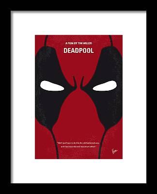 Deadpool Framed Prints