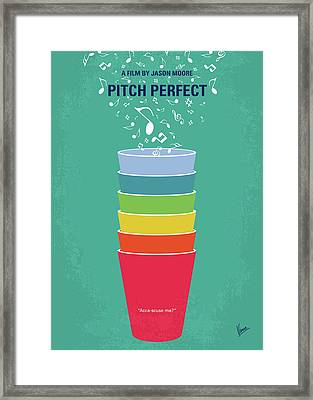 No660 My Pitch Perfect Minimal Movie Poster Framed Print by Chungkong Art