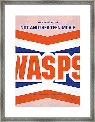 No667 My Not Another Teen Minimal Movie Poster Framed Print