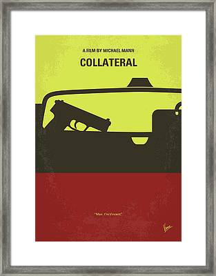 No691 My Collateral Minimal Movie Poster Framed Print