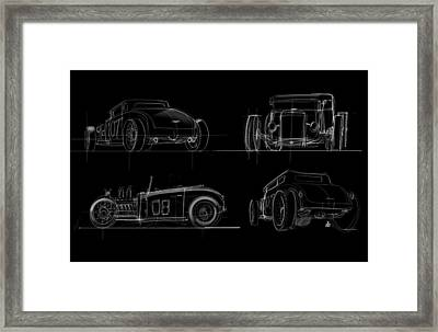 No.7 Framed Print by Jeremy Lacy
