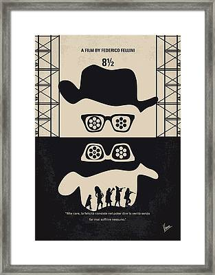 No731 My 8 1 2 Minimal Movie Poster Framed Print by Chungkong Art