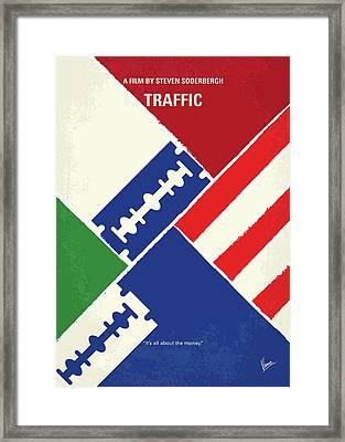 No739 My Traffic Minimal Movie Poster Framed Print by Chungkong Art