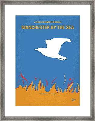 No753 My Manchester By The Sea Minimal Movie Poster Framed Print by Chungkong Art