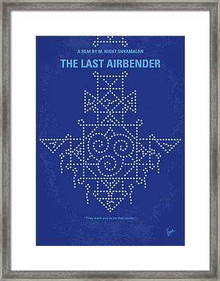 Framed Print featuring the digital art No764 My The Last Airbender Minimal Movie Poster by Chungkong Art