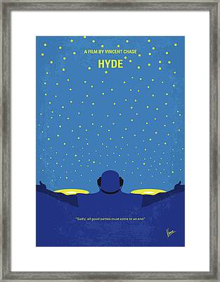 No777 My Hyde Minimal Movie Poster Framed Print